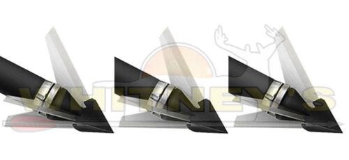 QAD Qualité Tir à L/'Arc Design Exode balayé 100 G 3 lame arbalète//Xbow Broadhead