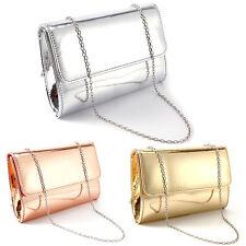 d6d07290104b item 2 Ladies  Plain Metallic Clutch Bag Glossy Evening Bag Wedding Handbag  Purse -Ladies  Plain Metallic Clutch Bag Glossy Evening Bag Wedding Handbag  ...