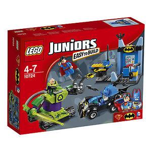 Lego® Juniors 10724 Batman ™ et Superman ™ contre Lex Luthor ™ Nouvel Ovp Nouveau Misb Nrfb