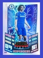 Match Attax Extra 2012 2013 Topps LE2 DAVID LUIZ Limited Edition 12 13