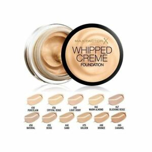Max-Factor-Whipped-Creme-Foundation-Choose-Your-Shade-FULL-SIZE