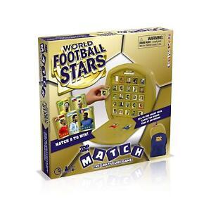 Mundial-de-futbol-de-estrellas-Top-Trumps-coincidir-con-juego-de-mesa-caja-Danada