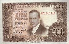España/Spain 100 pesetas 1953 (55) pick 145 (1)