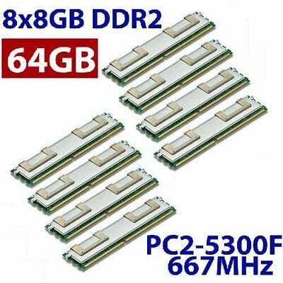 Liefern 8x 8gb 64gb Ram Dell Poweredge 2900 Iii Pc2-5300f 667 Mhz Fully Buffered Ddr2 Modischer (In) Stil;