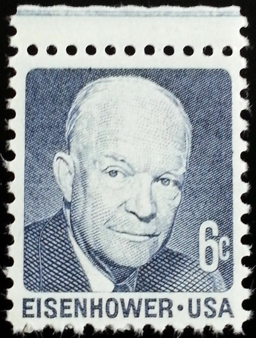 "1970 6c Dwight David ""Ike"" Eisenhower Scott 1393 Mint F"