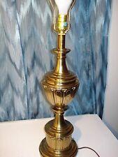 STIFFEL BRASS LAMP HEAVY, HOLLYWOOD REGENCY TROPHY DESIGN,  SUPERB