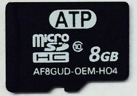 8gb Micro Sd Microsdhc Class 10 Flash Card Lg Htc Motorola Samsung Nokia
