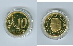 Belgien  10 Cent  PP/Proof  (Wählen Sie zwischen: 1999 - 2018)