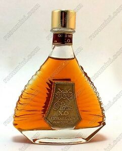 CXO-043-Extra-rare-mini-bottle-Reims-XO-label-made-by-bronze-from-France