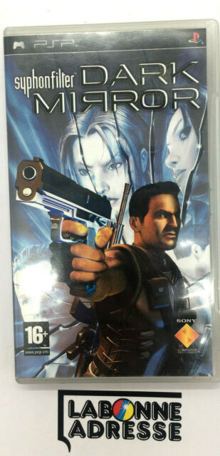 PSP JEU VIDEO SYPHON FILTER DARK MIRROR - COMPLET FRANCAIS