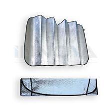Car Sun Shade 130 X 60cm Double-Sided Silver Bubble Cotton Sun Shade Insulation
