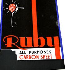 24 X A4 CARBON PAPER SHEETS HAND COPY ..BLACK..