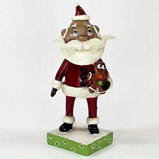 "Department 56 SANTA WITH GINGERBREAD 7"" Figurine Pumpkinseeds Janell Berryman"