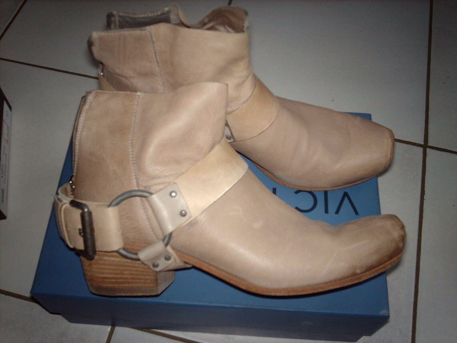 bottes VIC MATIE taupe Pointure 38
