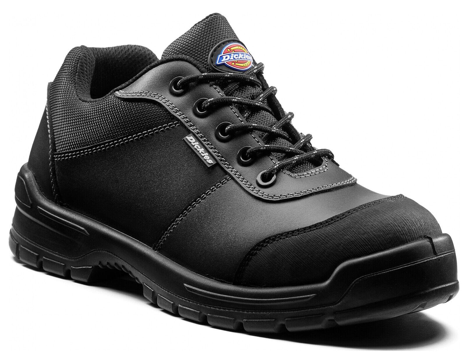 Dickies Andover Zapatos para Hombre Puntera De Acero Tapa Anti Rozaduras Toe Talón UK6-14