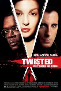 Twisted-DVD-2004-Widescreen-Disc-Only-Ashley-Judd-Samuel-L-Jackson