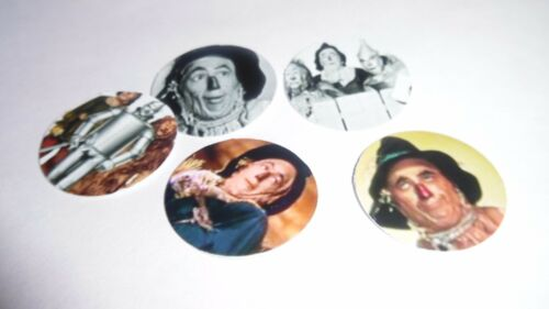 Pre Cut One Inch Bottle Cap Images Oz Scarecrow  of the West Free Shipping