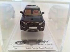 Century Dragon Land Rover Evoque 2011 Santorini Black CDLR 1001 New Range