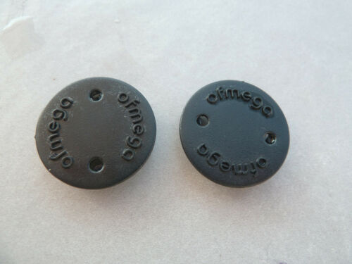 Classic Ofmega Bicycle Crankset Plastic Dust Caps Set Of 2 Road Bike Parts NOS
