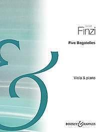 sheet music; Finzi BH 11917 Veronica Gerald.; Leigh Jacobs Five Bagatelles
