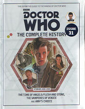 Doctor Who Complete History #31 Time of Angels Flesh & Stone Vampires of Venice