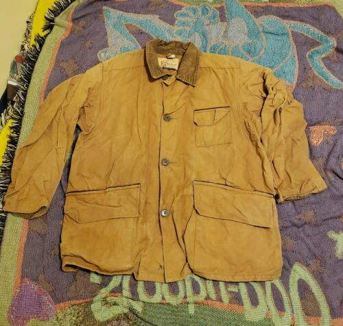 1940s Duxbak Mohawk Hunting Jacket 40s Workwear S… - image 1