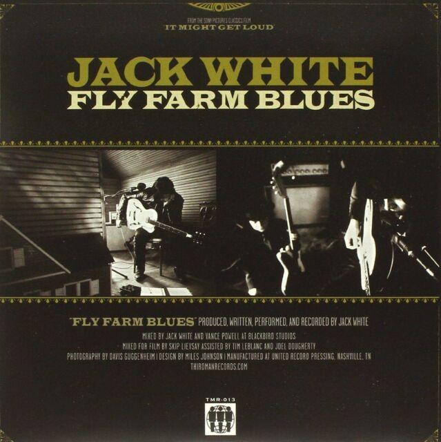 "Jack White - Fly Farm Blues (7"" Vinyl - Aug 18, 2009) Single NEW"