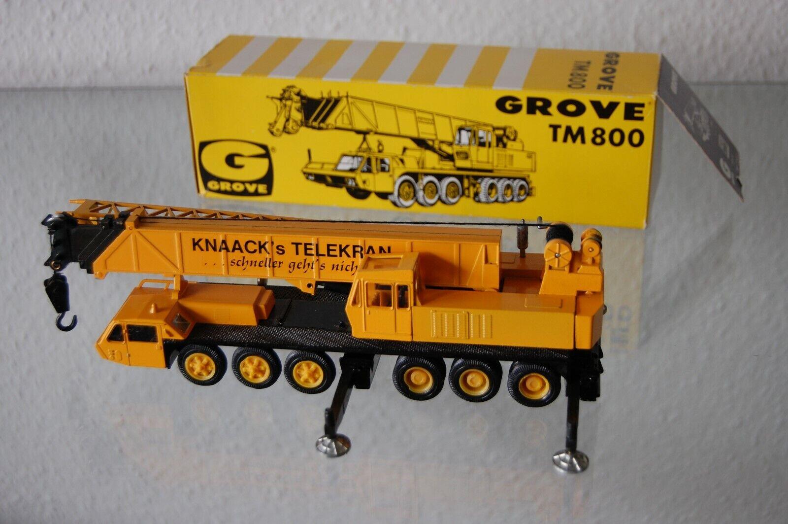 Grove TM 800 KNAACK HAMBURG Autokran NZG 1 55