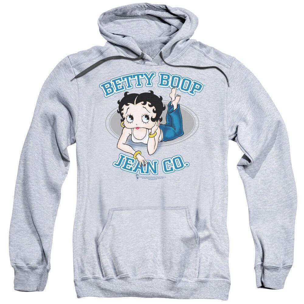 Betty Boop JEAN COMPANY Ad Licensed Sweatshirt Hoodie