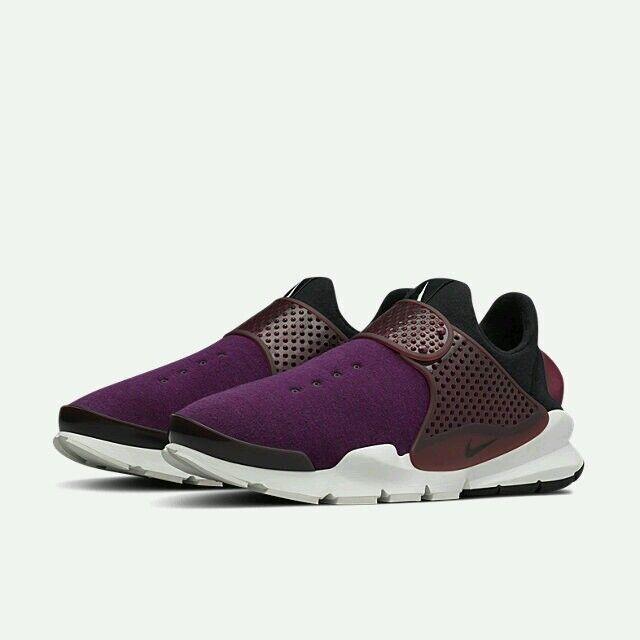 Nikelab nike sock dardo tech vello sp mulberry plum purple s Uomo numero 10