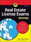 Real Estate License Exams for Dummies by John A. Yoegel (2017, Paperback)