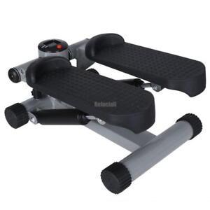 Stepper-Steppgeraet-Swingstepper-Crosstrainer-Heimtrainer-Drehstepper-LCD-Swing