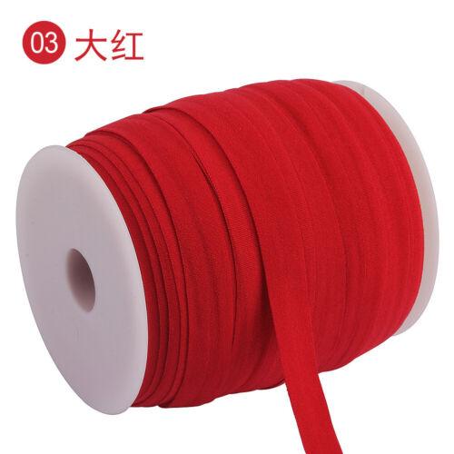 15mm Elastic Band 100M//roll Spandex Ribbon Sewing Trim Waist Band Stretch Rope