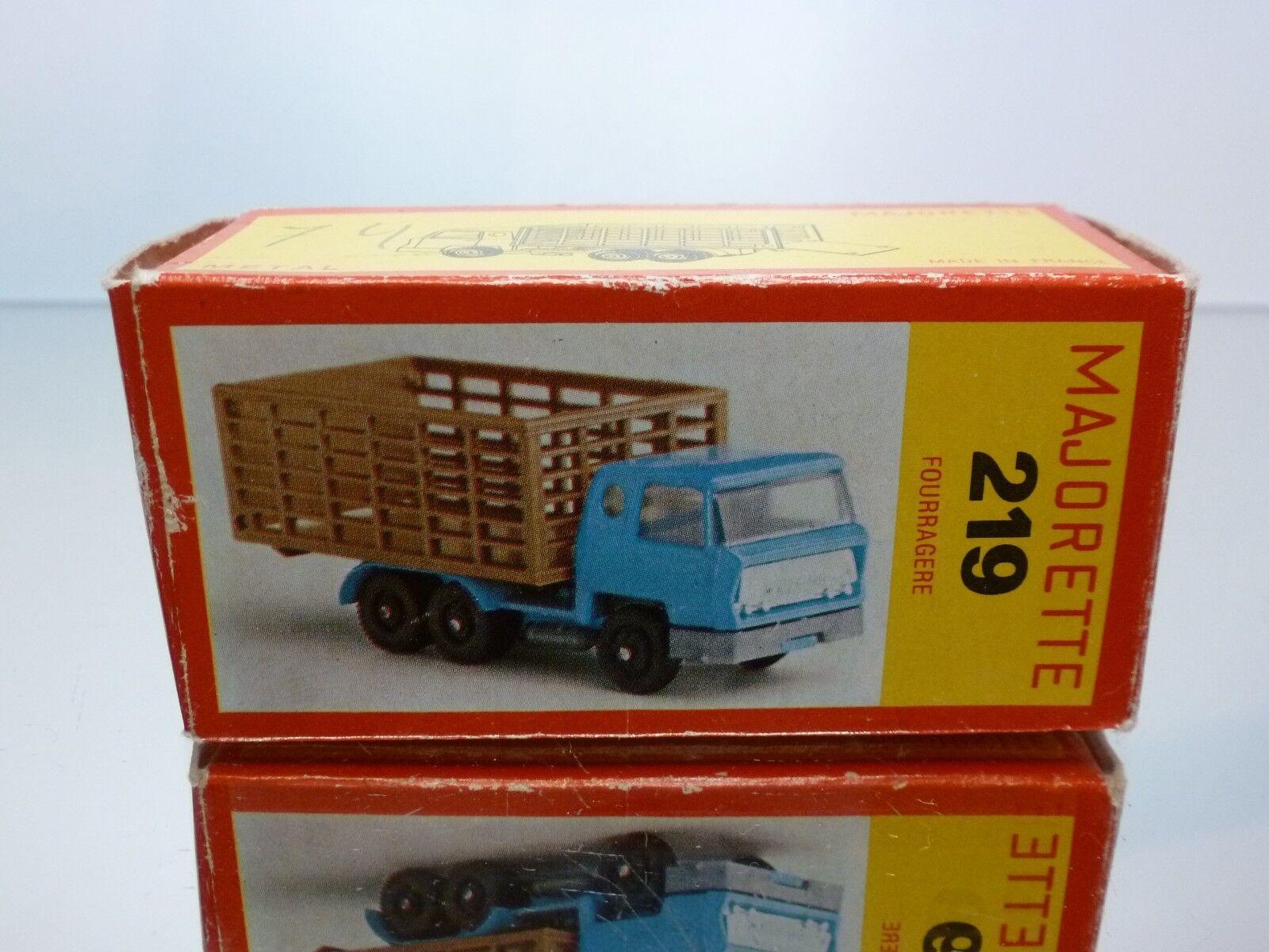 MAJORETTE 219 BOX for DAF 2600 ANIMAL TRANSPORTER - FOURRAGERE 1 100 - ONLY BOX