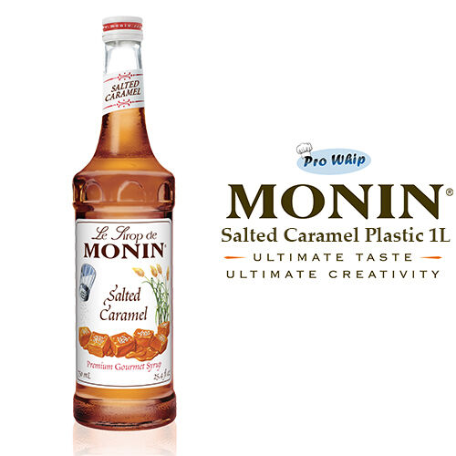Monin Coffee Syrup Salted Caramel 1 L For Sale Online Ebay