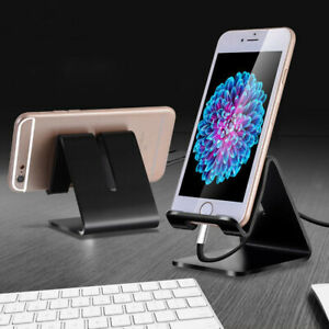 Universal-Aluminum-Metal-Phone-Holder-Desk-Stand-For-Samsung-iPhone-8-New-X