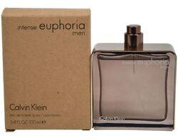 Calvin Klein Mens Euphoria Intense 3.4oz. Cologne Bottle