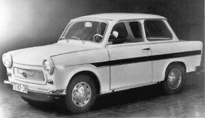 Zierleisten-Satz-fuer-Trabant-601-Urausfuehrung-Vorserie-NEU-mit-Haltefedern