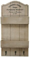 General store de madera 3 Perchero Clave Rack Huerto Organizador