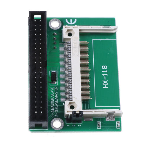 1pc Single Compact Flash CF to 3.5 IDE 40Pin Male adapter Card   JF