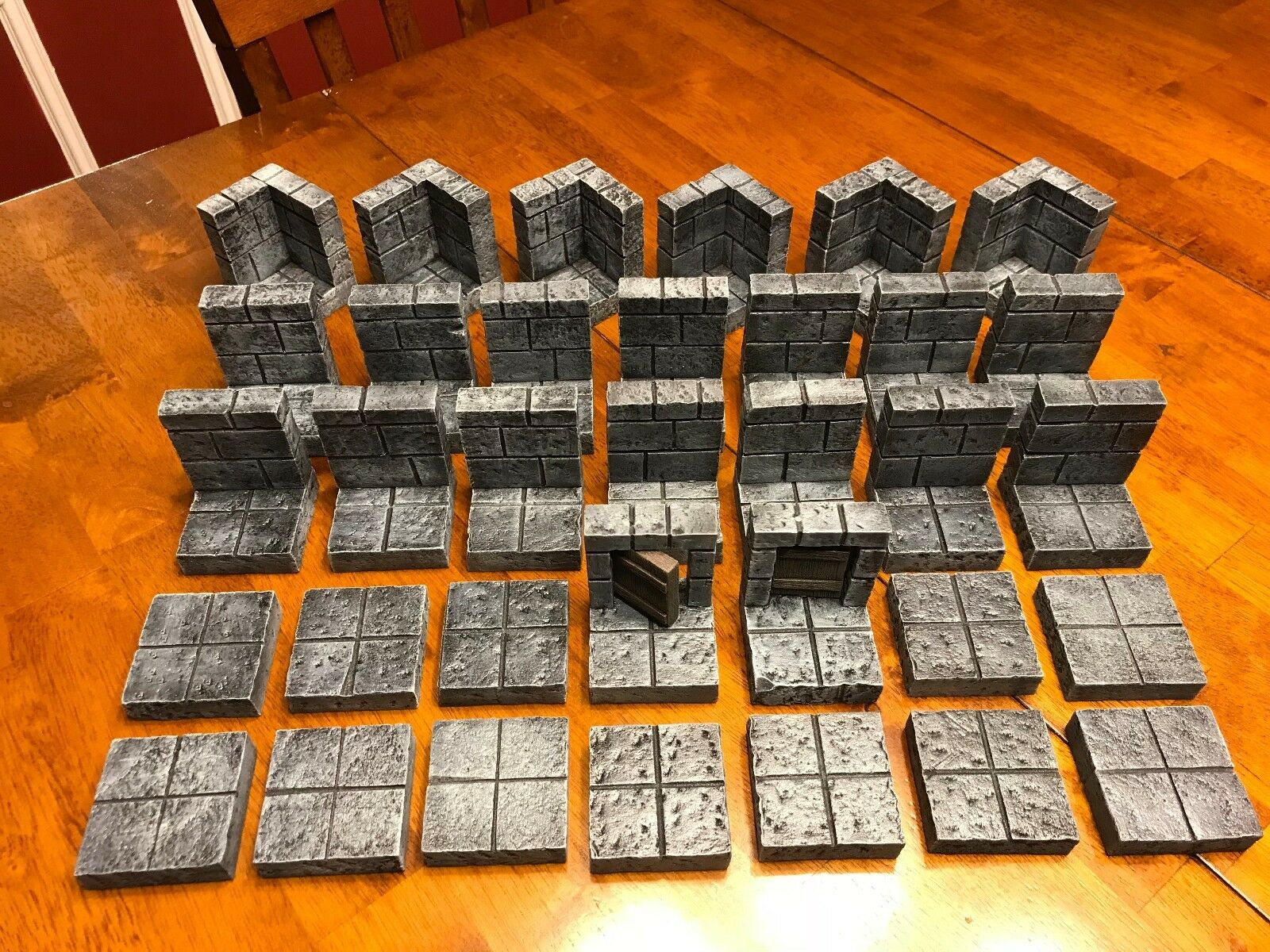 Dungeon Big Modular Tile Set 28mm Dungeons & Dragons Pathfinder d&d Terrain