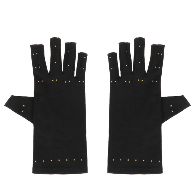 Copper Arthritis Hands Gloves As Seen on Tv Therapeutic Compression Pain  Relief