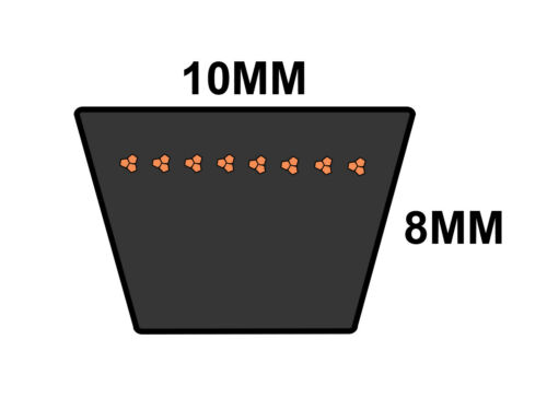 D/&D PowerDrive SPZ369 V Belt  10 x 369mm  Vbelt