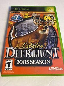 Cabela's Deer Hunt 2005 Season - Original Xbox Game - Complete & Tested