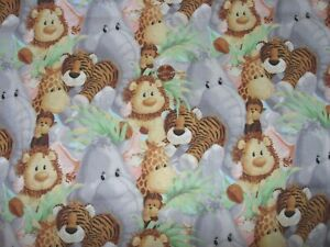 Jungle Babies Nursery Giraffe Print Baby Cotton Fabric Traditions By The Yard