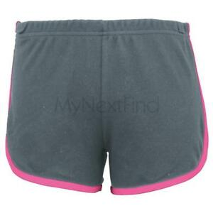 American-Apparel-Womens-Interlock-Running-Short