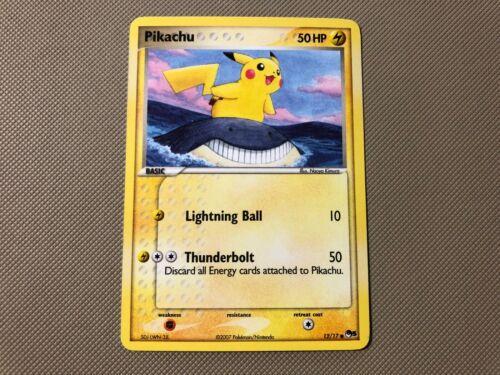 Pikachu Promo Non-Holo Rare Pokemon TCG POP Series 5 12//17 NM!
