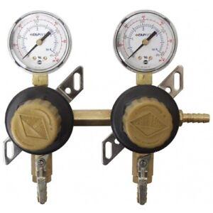 Secondary Regulator 4 Way In Line Beer Keg Homebrew Dual Kegerator Carbonation