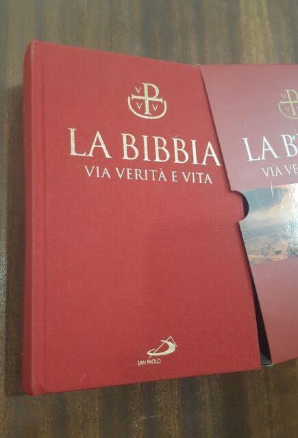 LA BIBBIA. VIA VERITà E VITA - NUOVO TESTO CEI, 2009