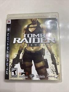 Tomb Raider: Underworld (Sony PlayStation 3, 2008) Complete